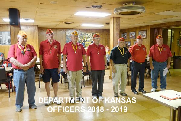 Dept of Kansas Staff Officers 20118-19